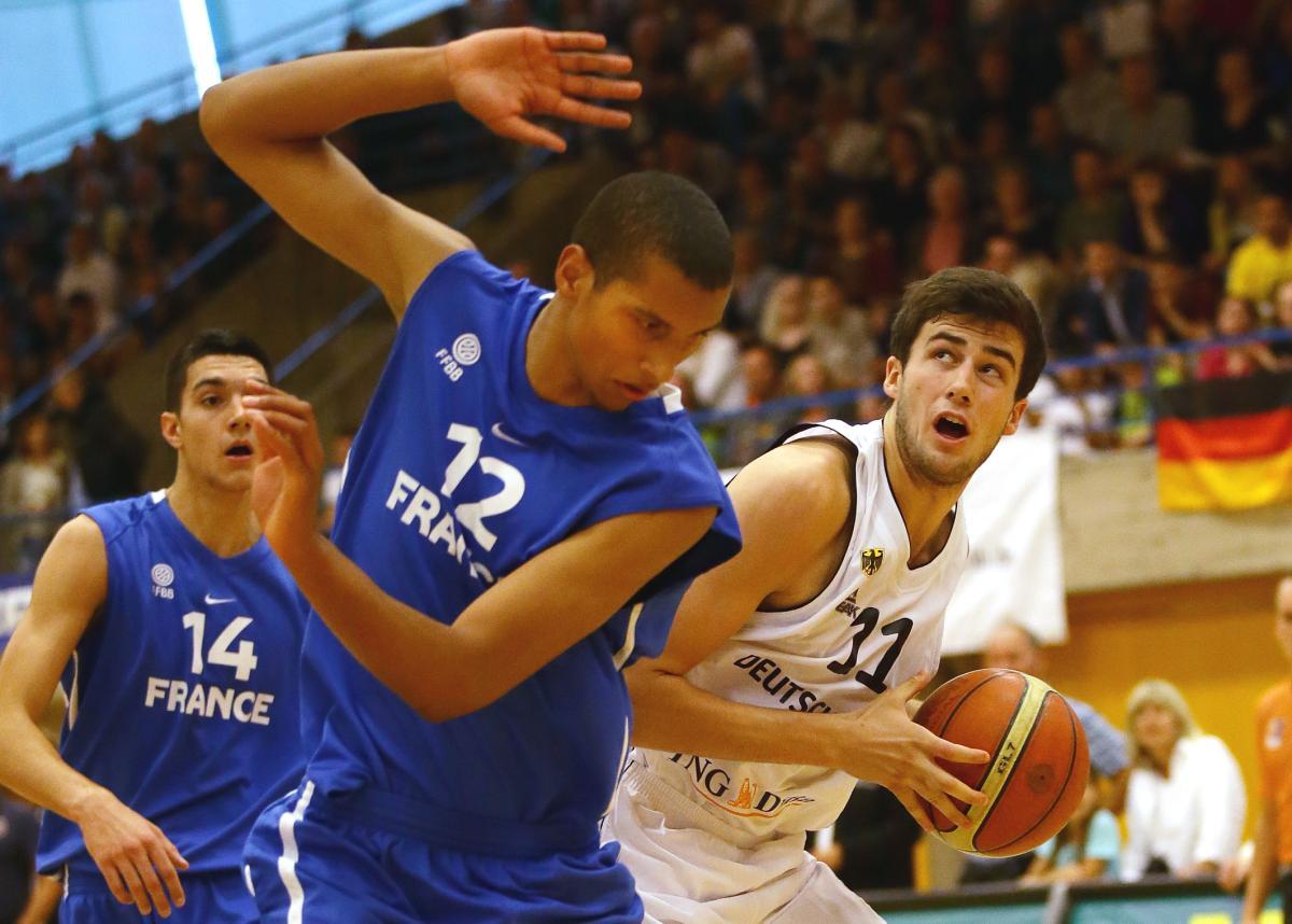 Basketball U 18 Deutschland vs. Frankreich