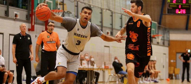 Basketball  MHP Riesen Ludwigsburg vs. Wiha Panthers Schwenningen